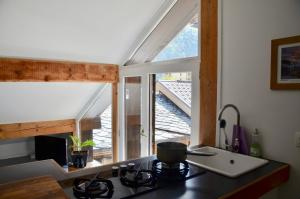 Modern studio in Chamonix centre