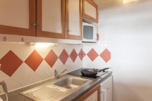 Maeva Les Combes, Apartmanhotelek  Les Menuires - big - 28