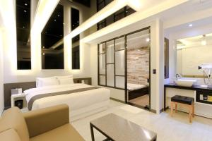 City Hotel G&G, Отели  Пусан - big - 5