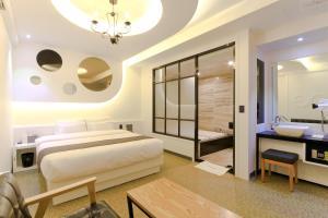 City Hotel G&G, Отели  Пусан - big - 6