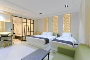 City Hotel G&G, Отели  Пусан - big - 7