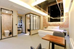 City Hotel G&G, Отели  Пусан - big - 20