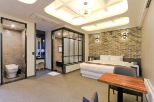 City Hotel G&G, Отели  Пусан - big - 24