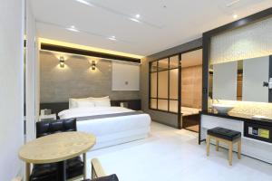 City Hotel G&G, Отели  Пусан - big - 33