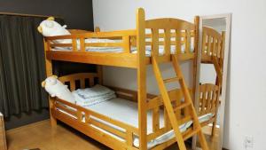Que sera sera Guest house, Apartmanok  Oszaka - big - 26