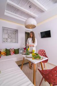 Spiros, Apartmanhotelek  Náxosz - big - 6