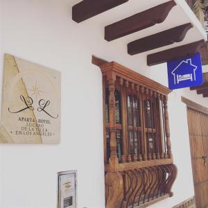 Lucero de los Ángeles en Villa, Apartmanhotelek  Villa de Leyva - big - 18