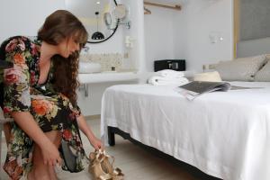 Spiros, Apartmanhotelek  Náxosz - big - 105