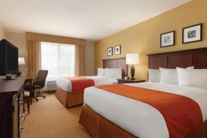 Zimmer mit 2 Queensize-Betten