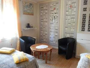 Les Coquillettes, Bed and breakfasts  Honfleur - big - 45