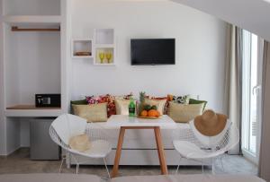 Spiros, Apartmanhotelek  Náxosz - big - 109