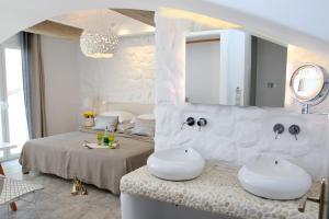 Spiros, Apartmanhotelek  Náxosz - big - 110
