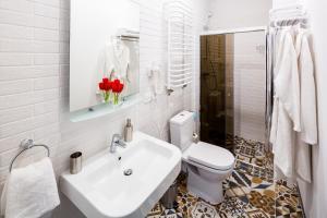 Apart Hotel Code 10, Apartmanhotelek  Lviv - big - 43