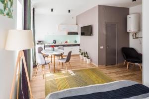 Apart Hotel Code 10, Apartmanhotelek  Lviv - big - 21