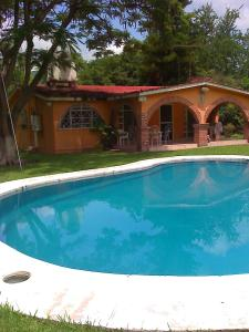 Holiday home near Balneario Santa Isabel Amusement Park in Ticumán