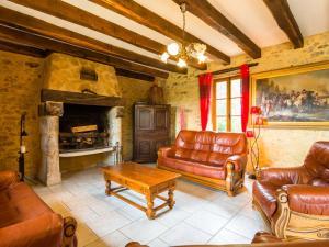 Maison De Vacances - Blanquefort-Sur-Briolance 1, Dovolenkové domy  Saint-Cernin-de-l'Herm - big - 49
