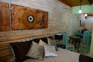 Pousada Lua e Sol, Гостевые дома  Castelo - big - 3