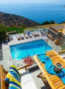 Villa Olga, Vily  Agios Nikolaos - big - 29