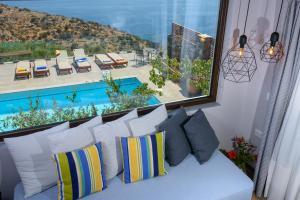 Villa Olga, Vily  Agios Nikolaos - big - 44
