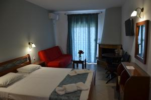 Kiwi Hotel, Hotels  Nea Fokea - big - 14
