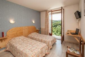 Logis Hotel Des Rochers, Hotels  Marvejols - big - 16