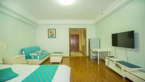 Hanlinge Apartment, Апартаменты  Далянь - big - 9