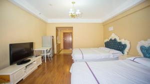Hanlinge Apartment, Апартаменты  Далянь - big - 23