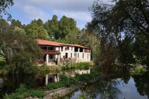 A Lareira De Allariz, Дома для отпуска  Альярис - big - 16