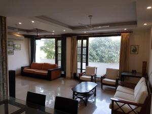 4 Bedroom Designer Service Apartment, Apartmanok  Újdelhi - big - 12