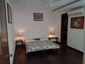 4 Bedroom Designer Service Apartment, Apartmanok  Újdelhi - big - 14