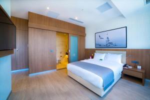 Apartmá s manželskou postelí King a terasou