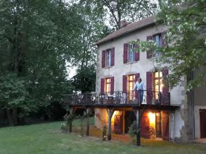 La Maison Aux Volets Rouge - Saint-Avit