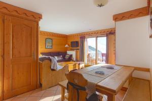 Maeva Particuliers Residence Les Alpages de Reberty, Appartamenti  Les Menuires - big - 9