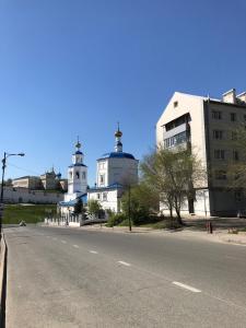 Apartment B. Krasnaya 1b, Apartmanok  Kazán - big - 11
