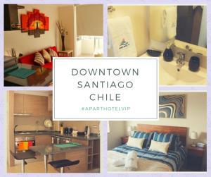 Apart Hotel Vip, Apartmány  Santiago - big - 1