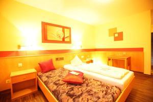 Hotelpension zum Gockl, Гостевые дома  Аллерсхаузен - big - 26