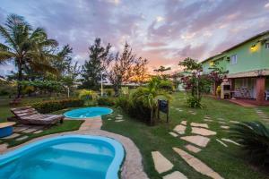Vila Verde Chalés, Гостевые дома  Estância - big - 82