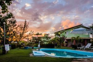Vila Verde Chalés, Гостевые дома  Estância - big - 83