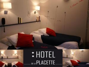 Hotel de la Placette Barcelonnette, Hotels  Barcelonnette - big - 49