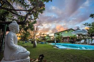Vila Verde Chalés, Гостевые дома  Estância - big - 42