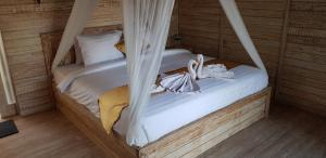 The Deny's Huts, Privatzimmer  Nusa Lembongan - big - 37