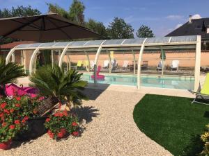 Inter-Hotel Bourg-en-Bresse Nord Le Pillebois, Hotel  Montrevel-en-Bresse - big - 40