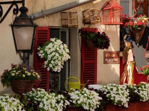 Hotel de la Placette Barcelonnette, Hotels  Barcelonnette - big - 93