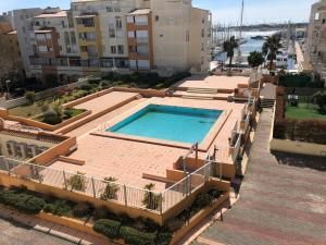 Languedoc Immobilier appartement 1 chambre piscine parking terrasse