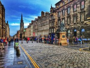 Relaxation on Royal Mile, Apartmanok  Edinburgh - big - 17