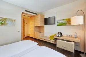 H+ Hotel Salzburg, Отели  Зальцбург - big - 3
