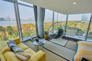 Wisetrip Riverside Apartments, Apartmanok  Hangcsou - big - 7