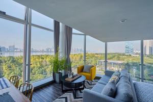 Wisetrip Riverside Apartments, Apartmanok  Hangcsou - big - 8