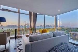 Wisetrip Riverside Apartments, Apartmanok  Hangcsou - big - 9