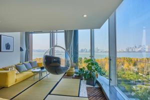 Wisetrip Riverside Apartments, Apartmanok  Hangcsou - big - 10